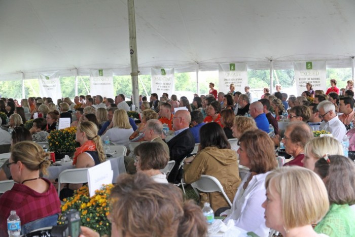 The Legacy Parks Foundation luncheon drew a capacity, sold-out crowd for Cheryl Strayed's appearance. (Photo by Legacy Parks Foundation)