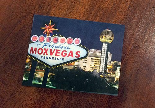 The MoxVegas winter party invitation