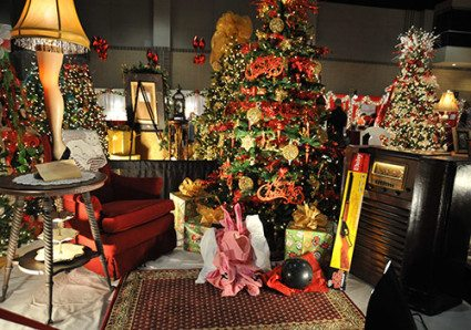 """""""A Christmas Story"""" scene from the Fantasy of Trees"""