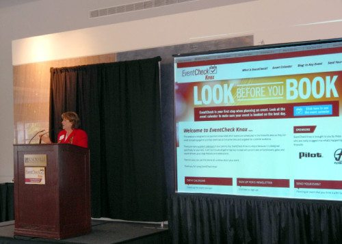 Cynthia Moxley introduces  EventCheck Knox.