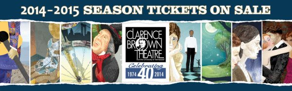 The Clarence Brown Theatre relies on corporate sponsorships to present its lineup of outstanding plays.