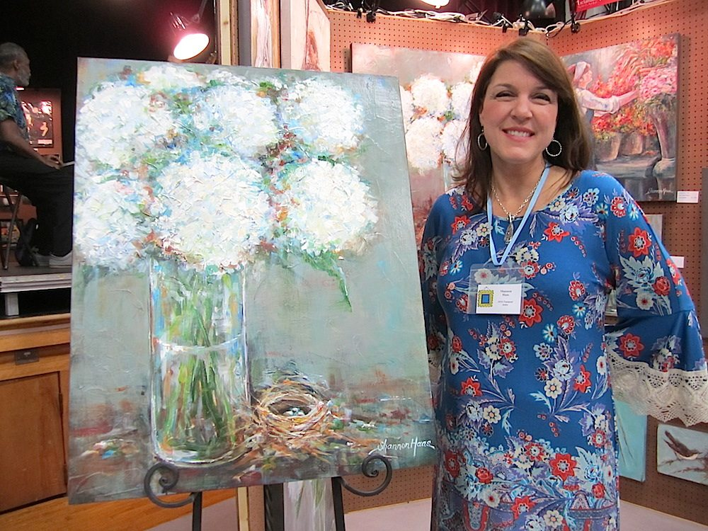 Shannon Haas was the featured artist at the 2014 Artsclamation! sale.