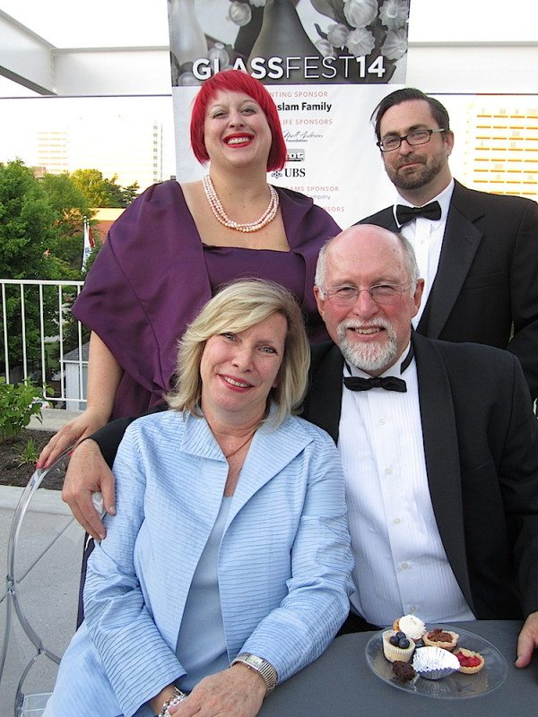 Chyna Brackeen, top left, also attends many events and is shown here with husband Darrien Thomson. Seated are Polly Ailor and Brackeen's father, Laurens Tullock.