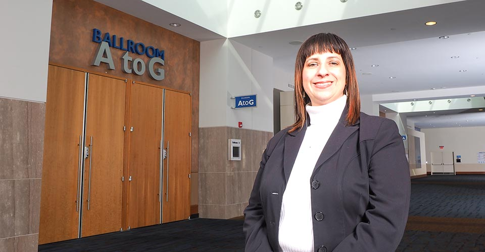 Lynn Armstrong is a seasoned menu planner for the Knoxville Convention Center.
