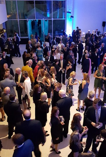 L'Amour du Vin is the Knoxville Museum of Art's largest fundraiser. A perfect evening is part of its signature appeal. (Blue Streak photo)